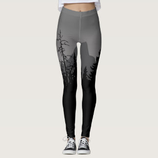 FreeArenas.com Mountain Morning Leggings