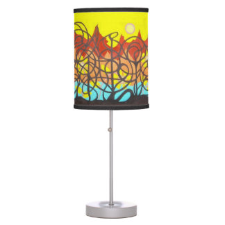 FREEBIRD GARDEN GOLDEN BIRD TABLE LAMP