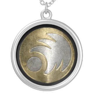 Freeborn emblem necklace