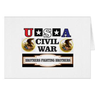 freed slaves USA CW Card