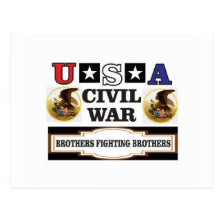 freed slaves USA CW Postcard