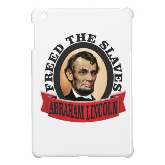 freed the slaves red abe iPad mini covers