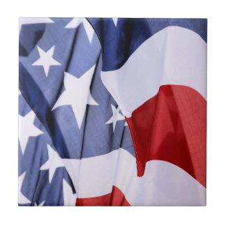 Freedom American Flag Ceramic Tiles