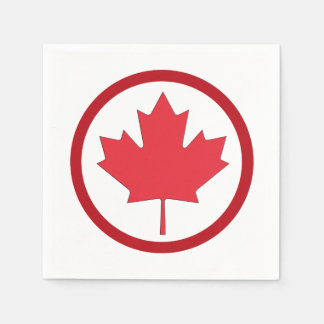Freedom And Independence Canada Day Party Napkins