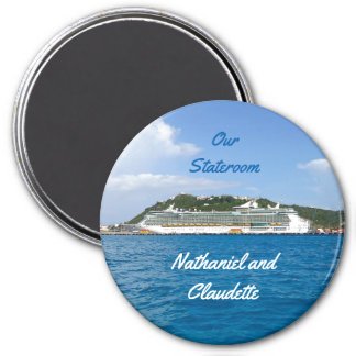 Freedom at Sint Maarten Stateroom Door Marker Magnet