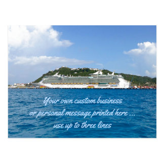 Freedom at St. Martin Custom Cruise Mailer Postcard