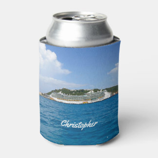 Freedom at St. Martin Personalized Can Cooler