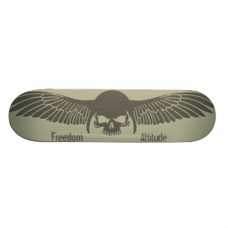 Freedom attitude skate board decks