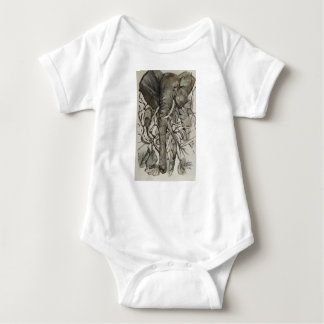 """""""freedom""""  baby one piece t with snap bottom baby bodysuit"""