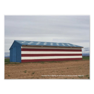 """Freedom Barn"" Madera County, California Photo Print"