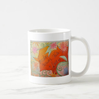 Freedom, Beauty, Truth and Love Coffee Mug