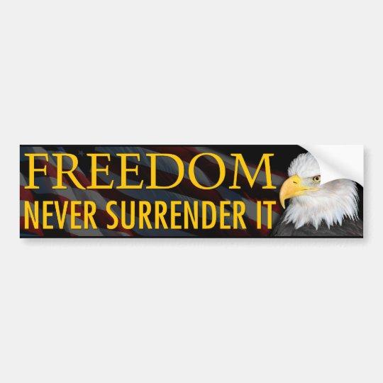 Freedom Bumper Sticker