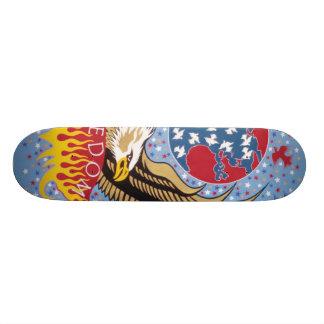 Freedom by Metin Custom Skateboard