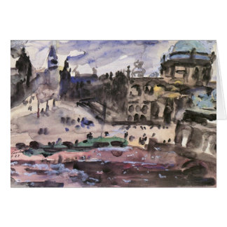 Freedom Castle by Lovis Corinth Card