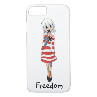 Freedom cell phone case for teenagers