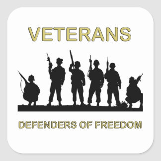 Freedom Defenders Veterans Day Stickers
