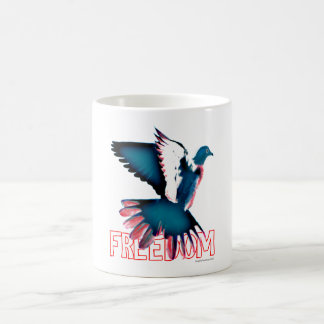 Freedom Dove Coffee Mug