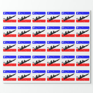 Freedom Drag-Boat FLAIR Wrapping Paper