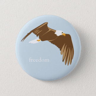 Freedom Eagle 2 Inch Round Button