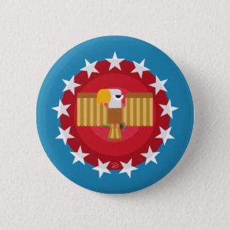 Freedom Eagle (Blue) - Button