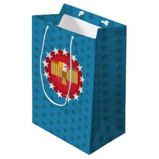 Freedom Eagle (Blue) - Gift Bag Medium