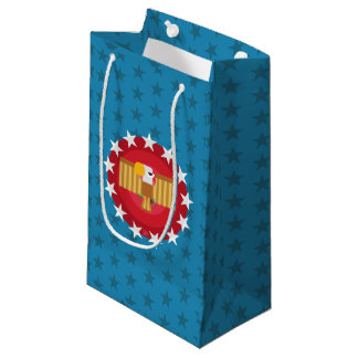 Freedom Eagle (Blue) - Gift Bag Small