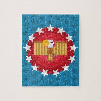 Freedom Eagle (Blue) - Puzzle