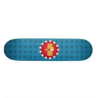 Freedom Eagle (Blue) - Skateboard Deck