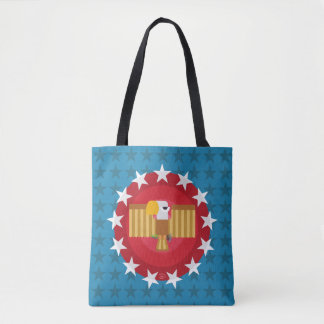 Freedom Eagle (Blue) - Tote Bag