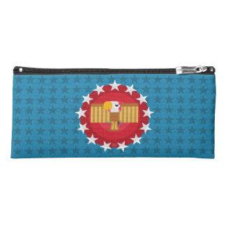 Freedom Eagle (Red & Blue) - Pencil Case