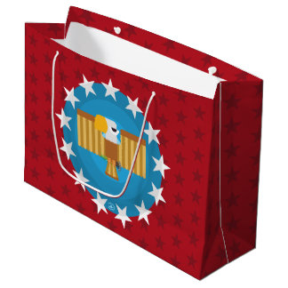 Freedom Eagle (Red) - Gift Bag Large