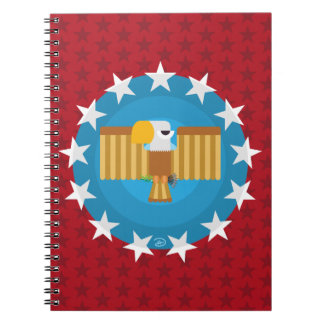 Freedom Eagle (Red) - Notebook