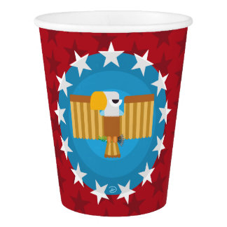 Freedom Eagle (Red) - Paper Cup