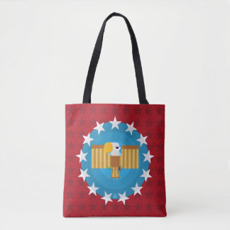 Freedom Eagle (Red) - Tote Bag