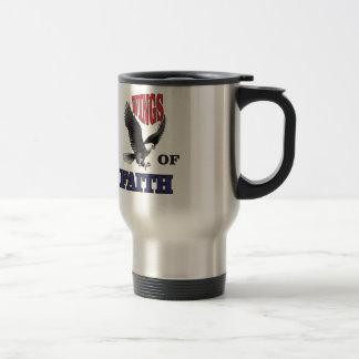 freedom fighter art travel mug