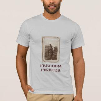 Freedom Fighter (Grey T-Shirt) T-Shirt