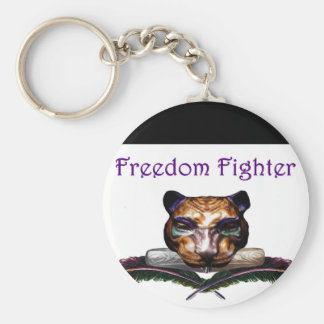 Freedom fighter- The feline Keychains