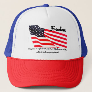 Freedom Flag Trucker Hat