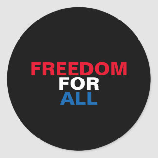 Freedom For All Sticker