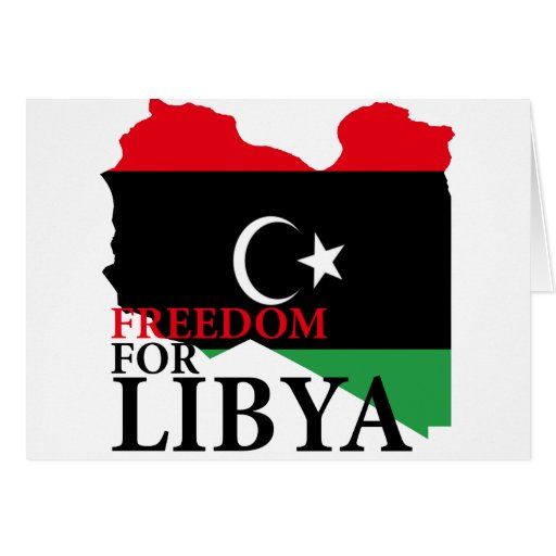 Freedom for Libya Cards