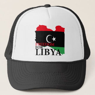 Freedom for Libya Trucker Hat