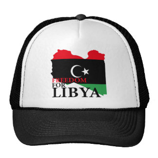 Freedom for Libya Trucker Hat