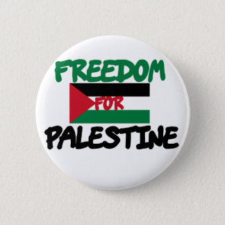 Freedom for Palestine 2 Inch Round Button