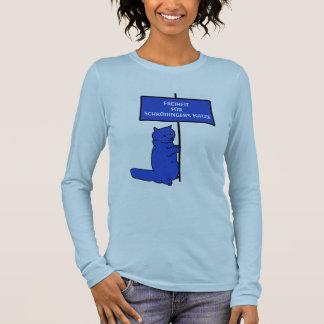 Freedom for Schrödinger´s cat Long Sleeve T-Shirt