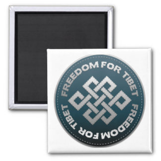 Freedom For Tibet Stitch Magnet