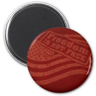 Freedom Fridge Mag 2 Inch Round Magnet