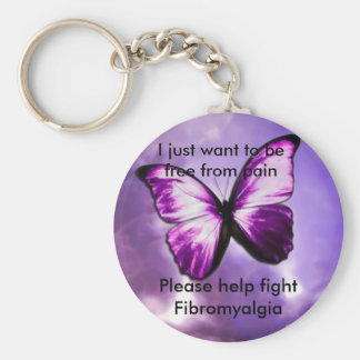 Freedom from Pain Basic Round Button Keychain