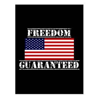 FREEDOM GUARANTEED U.S. Flag Postcards