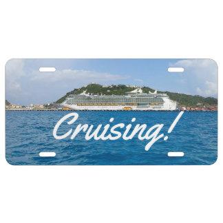 Freedom in St. Maarten Cruising License Plate