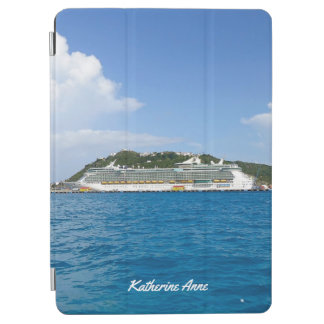 Freedom in St. Maarten Personalized iPad Air Cover